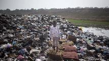 Obří hřbitov elektroniky v Ghaně