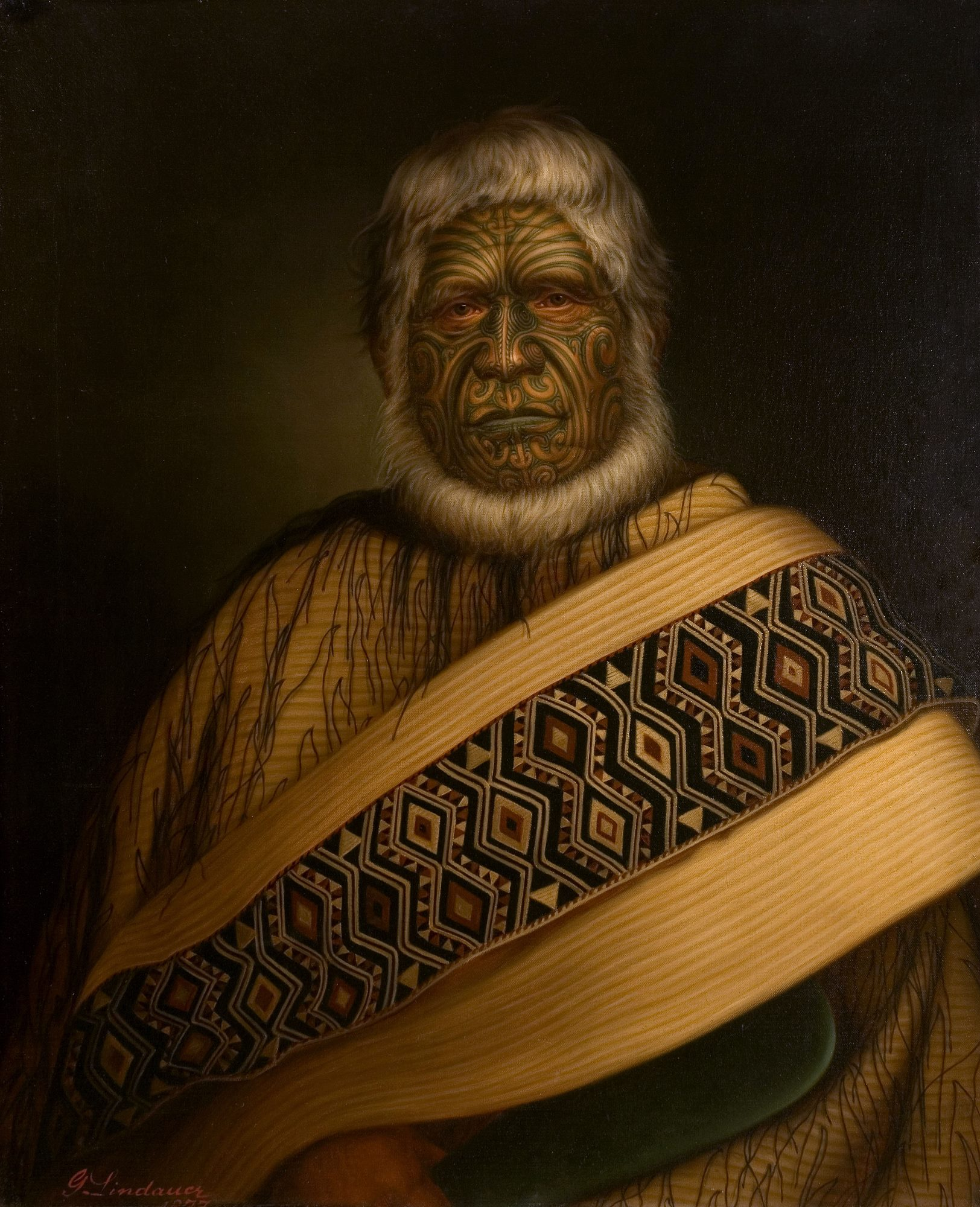 Bohumír Gottfried Lindauer - ukázky obrazů