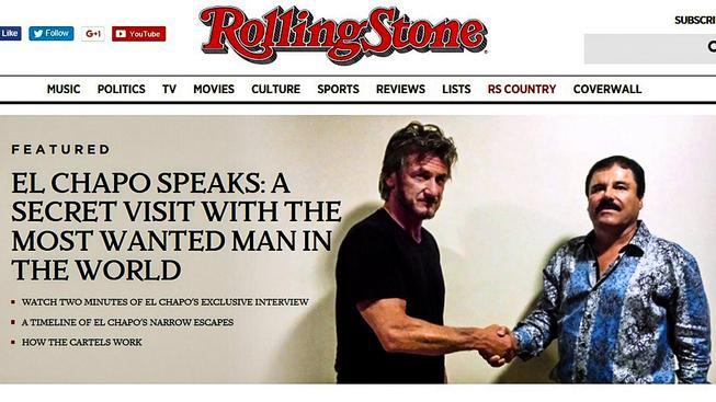 Sean Penn a slavný Prcek na otvíráku webu Rollig Stone