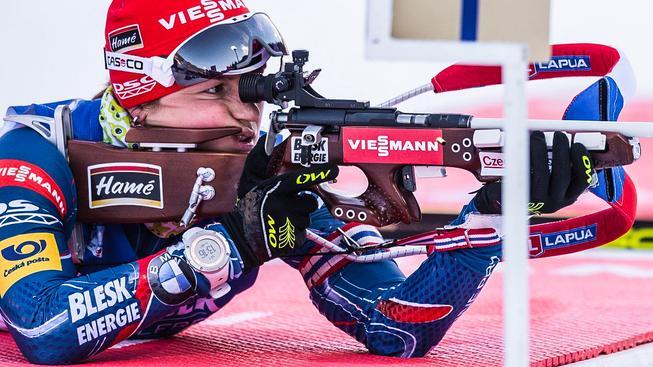 Veronika Vítková dovezla českou štafetu do cíle na šestém místě