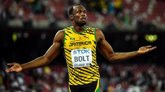 Usain Bolt posbíral na letošním mistrovství světa v Pekingu tři zlaté medaile