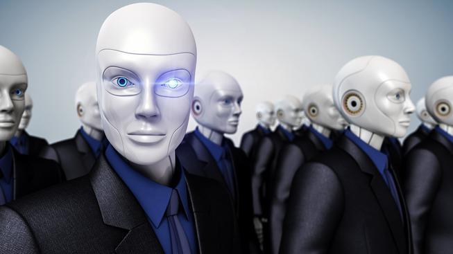 """Roboti ohrozí i práci """"bílých límečků"""" (ilustrační snímek)"""