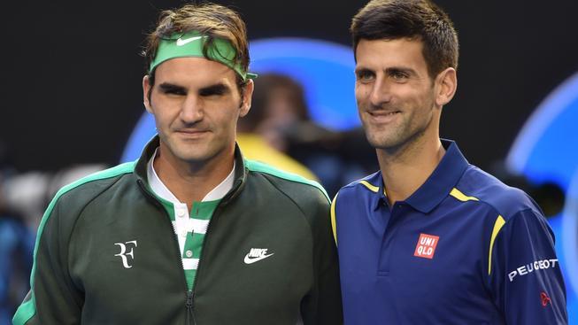 Federer a Djokovič nastoupili do zápasu se vzácně vyrovnanou bilancí 22:22