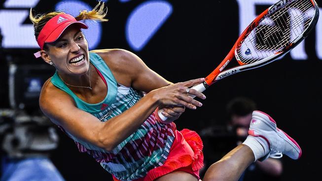 Angelique Kerberová se posunula na druhé místo ve světovém žebříčku