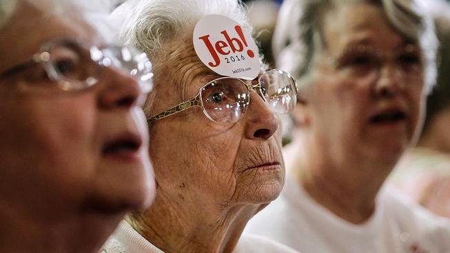 Jeba Bushe vyšel jeden hlas v Iowě na zhruba 2800 dolarů