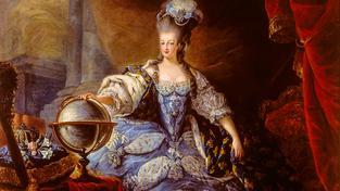 Portrét královny Marie Antoinetty od Jeana Dagoty z roku 1775