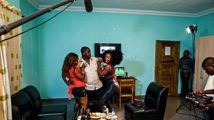 Natáčení v Nollywoodu