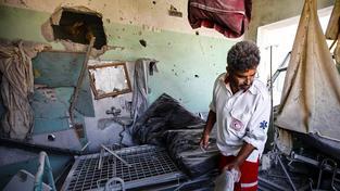 Na palestinském zdravotnictví se ozbrojený konflikt těžce podepsal