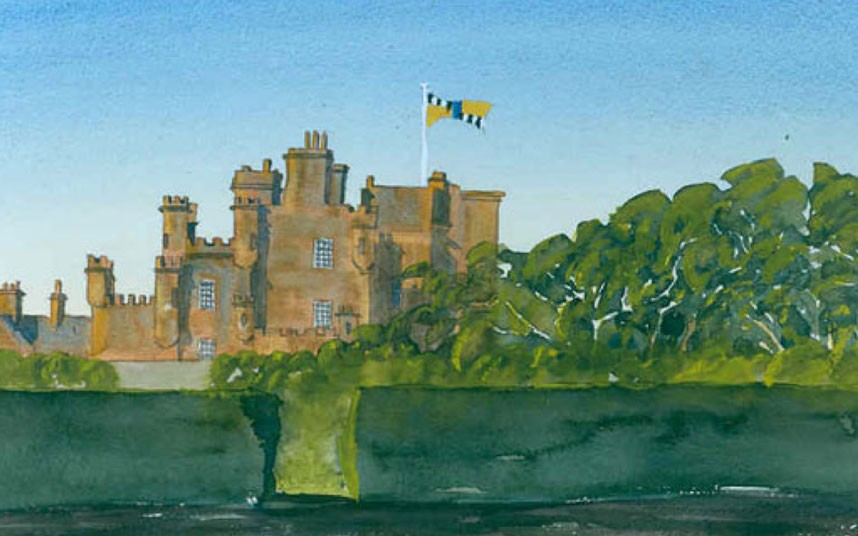 Akvarely britského prince Charlese