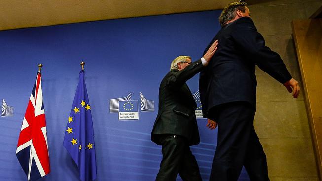 Juncker a Cameron v Bruselu