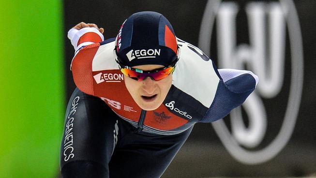 Martina Sáblíková během mistrovství světa v ruské Kolomně