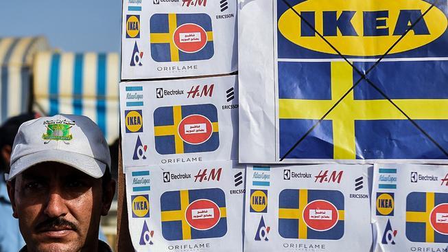 Maročané protestovali proti IKEA loni v říjnu v Rabatu