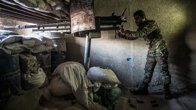"""V Sýrii vedou pozemní boje jen """"místní"""", mezinárodní koalice se do nich zatím  nežene"""