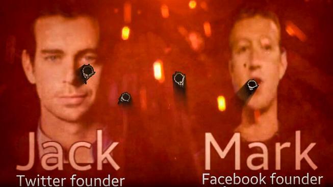 Záběr z nového propagandistického videa IS