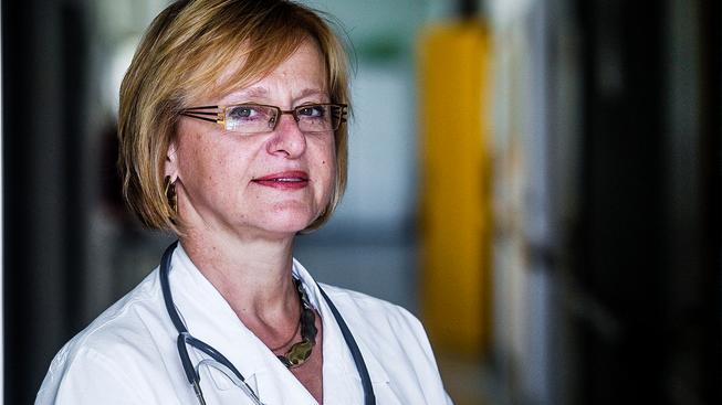Primářka infekčního oddělení Nemocnice Na Bulovce Hana Roháčová