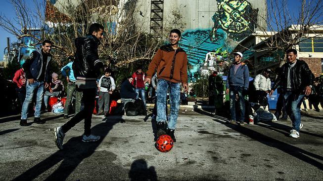 Uprchlíci budou v Riu soutěžit pod olympijskou vlajkou. Ilustrační snímek