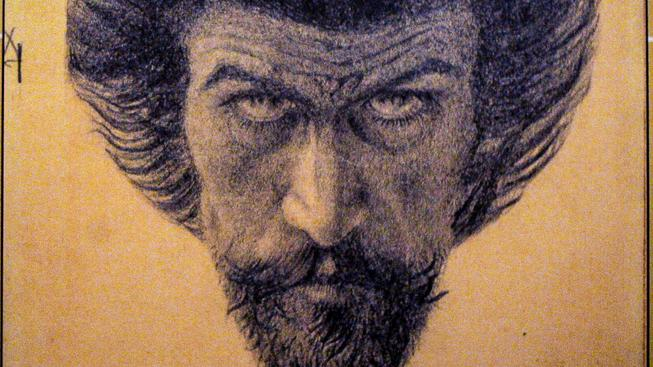 Karel Hlaváček - Můj Kristus, autoportrét