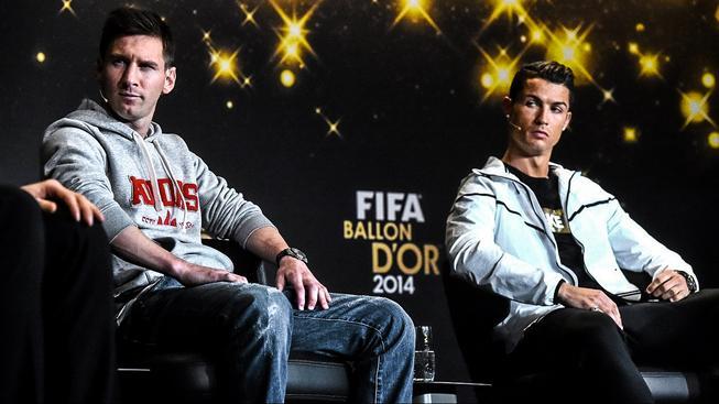 V posledních osmi letech se anketa Zlatý míč proměnila v duel dvou mužů