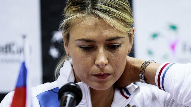 Kontrolujte si seznam zakázaných látek, mohla by teď radit ostatním sportovcům Šarapovová