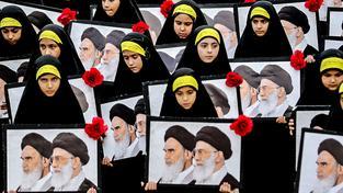 Pohřeb vojáků Hizballáhu