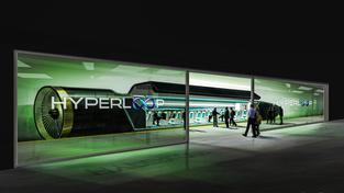 Hyperloop má být schopný cestovat rychlostí před 1000 kilometrů za hodinu