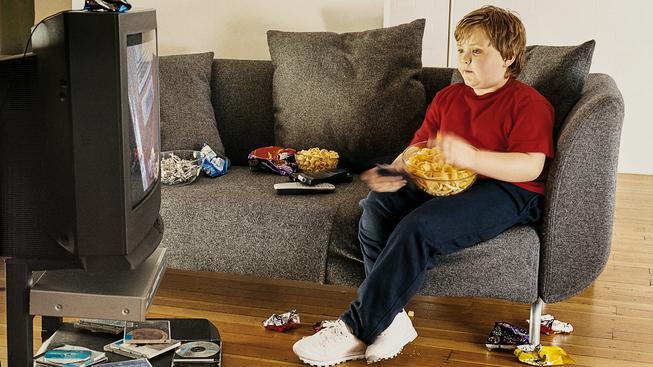 Pohyb chybí 80 procentům českých dětí, tráví moc času u počítače nebo i televize (ilustrační snímek)