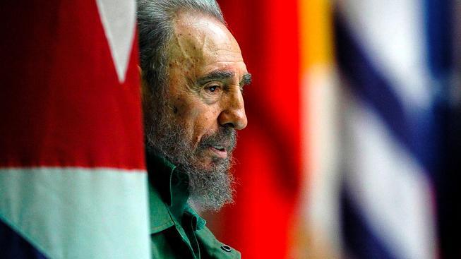 Kubánský vůdce Fidel Castro