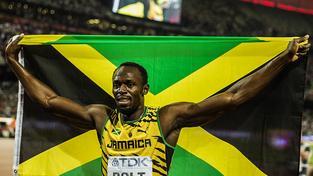 Z loňského MS v Pekingu si Bolt odvezl tři zlaté medaile