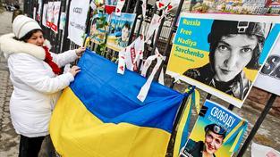 Savčenková má mezi Ukrajinci širokou podporu, alespoň tedy na západě země