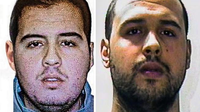 Atentátníci z Bruselu bratři Brahim a Khalid El Bakraouiovi