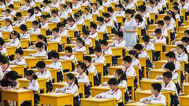 Čínské školství má svá specifika