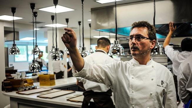 Andoni Luis Aduriz, profesor na BCC a šéf restaurace Mugaritz