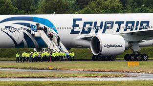 Unesené letadlo přistálo na Kypru (Ilustrační snímek)