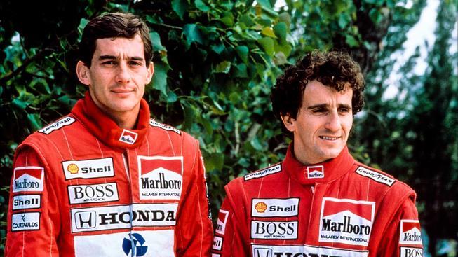 Senna a Prost si jako týmoví kolegové v McLarenu nemohli přijít na jméno