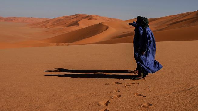 Libyjská poušť