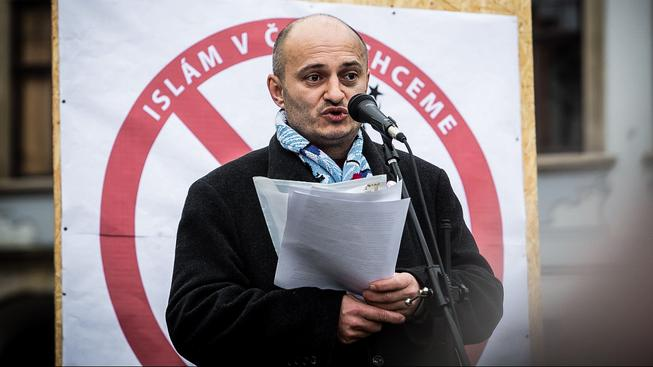 Předseda Bloku proti islámu Martin Konvička