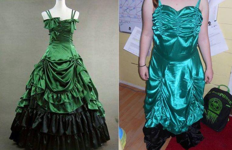 Jak může dopadnout koupě podezřele levných šatů