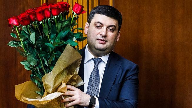 Novopečený ukrajinský premiér Volodymyr Hrojsman