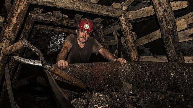 Práce horníka bude brzy v Evropě minulostí (Ilustrační snímek)