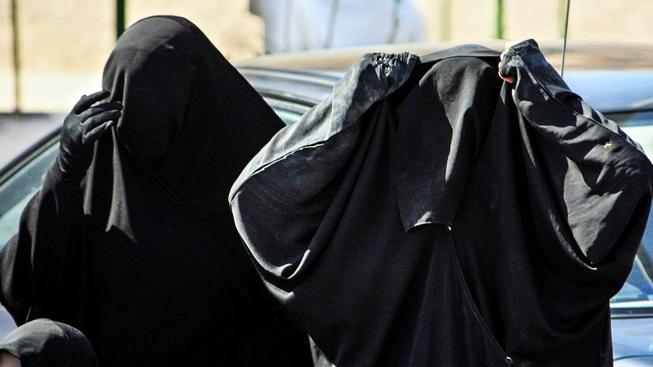 Saúdské ženy na procházce