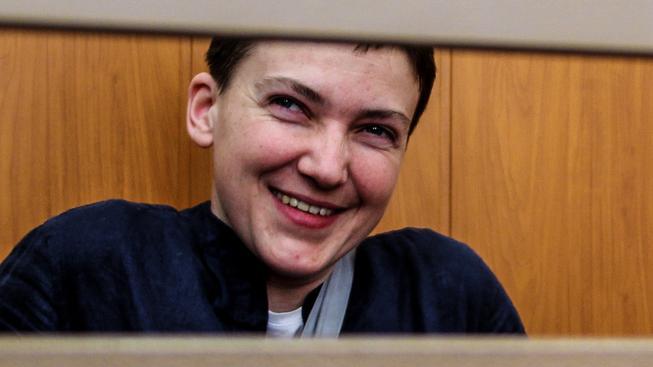 Ukrajinská pilotka Nadija Sevčenková zřejmě již brzy opustí ruské vězení