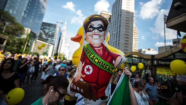 Politická situace vyvolává v Brazílii velké vášně