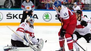 Hokejisté v přípravě na MS poprvé prohráli, ve Švýcarsku 2:3