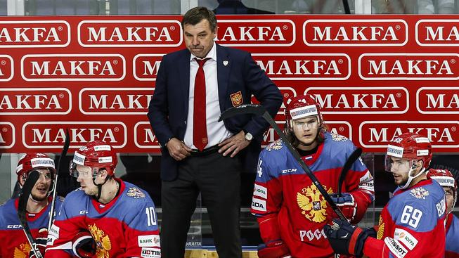 Ruský trenér Oleg Znarok