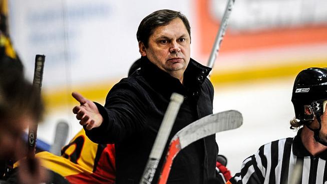Trenér lotyšské reprenzentace Leonīds Beresņevs