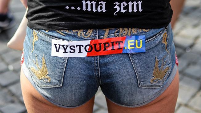 O vystoupení z EU usilují mimo jiné stoupenci Národní demokracie