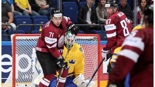 Lotyši ukázali, že se s nimi musí počítat
