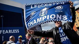 Leicester čekal na ligový titul 132 let