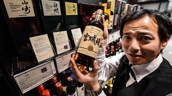 Zájem o whisky v Japonsku v poslední době raketově stoupá