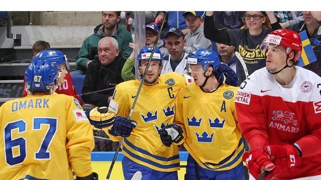 Švédové se před zápasem s Českem rozstříleli